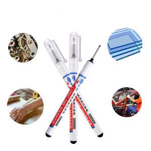 20mm Tips Long Head Marker Pens Multi-purpose Woodworking Deep Hole Marker Pen
