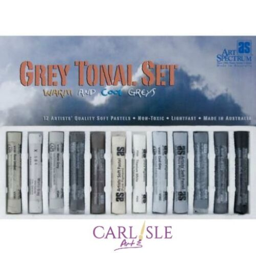 Art Spectrum Grey Tonal Pastel Set