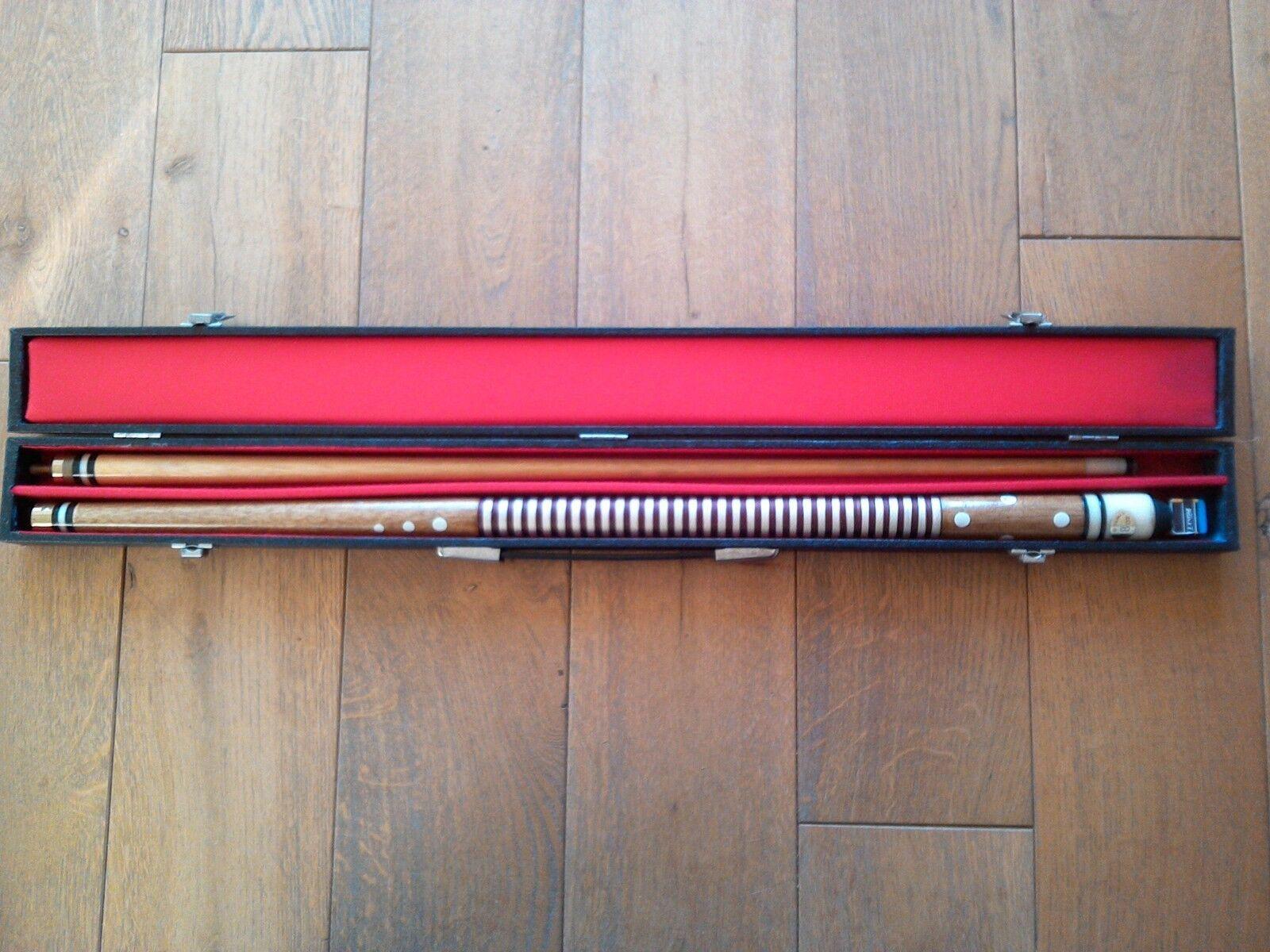 Billiard Billard Kö Queue Pool mit Koffer Koffer Koffer 2ab616
