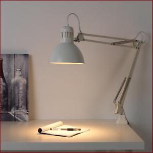 Ikea Tertial A1602f Lampada Da Lavoro A Pantografo Lume 360 Inst Su Piano Muro Ebay