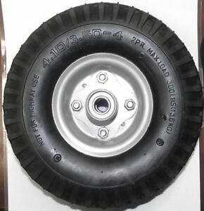 10 quot x 3 quot filled no flat wheel 5 8 quot axle use for hand truck wheelbarrow