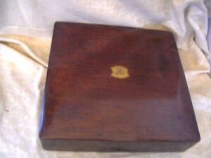 ANTIQUE-MAHOGANY-OLD-CUTLERY-BOX-WITH-BRASS-PLAQUE