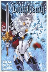 Lady-Death-Abandon-All-Hope-1-A-Avatar-2005-VF-NM-Ron-Adrian-Variant