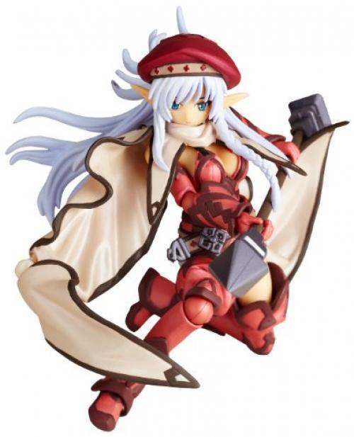 NEW Revoltech Queen's Blade No.007EX Fighting Master Alleyne 2P Farbe Figure F/S