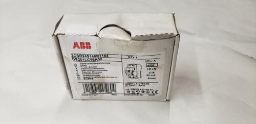 ABB 2CSR245140R1164  DS201LC16A30 2-Pole Circuit Breaker NEW IN BOX