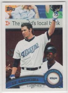 2011-Topps-Baseball-Toronto-Blue-Jays-Team-Set