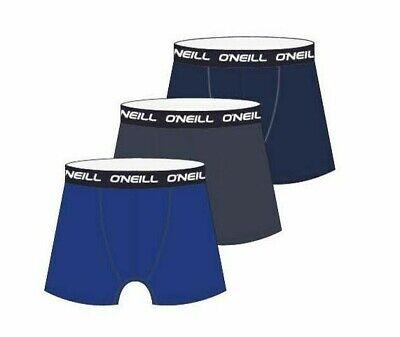 O´neill 3 Pack Herren Boxershort Underwear UnterwÄsche Unterhose Retro Boxer