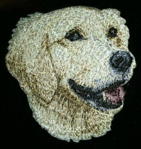 "2.5 /"" Golden Retriever Hund Rasse Bild Bestickt Patch"