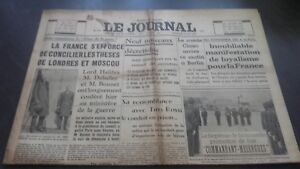 JOURNAUX-LE-JOURNAL-N-17014-DIMANCHE-21-MAI-1939-ABE