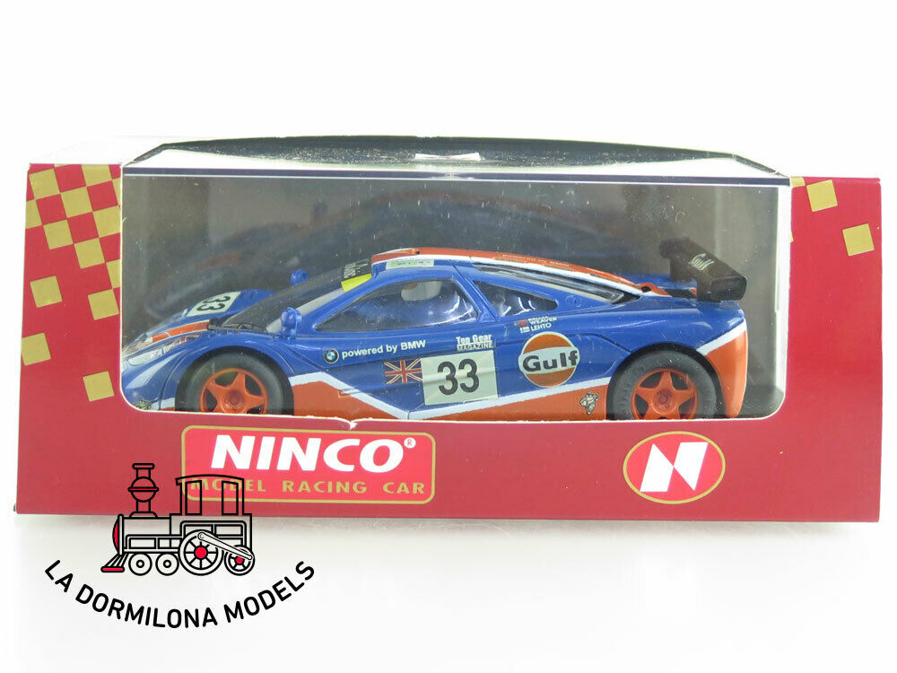NINCO 50140 McLaren F1 GTR GULF  33 NUEVO A ESTRENAR