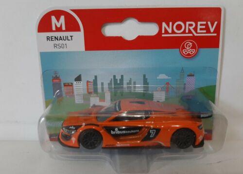 Renault Rs 01 orange  sous blister Echelle environ 1//60 Norev 3 inches