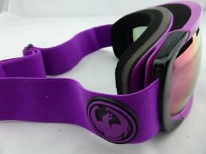 3f91990655f Image is loading Dragon-Snow-Goggles-ROGUE-Violet-Purple-Ion-Lens-