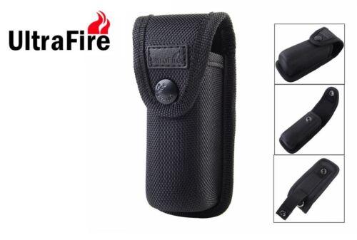 New Ultrafire Hard Nylon Flashlight Torch Holster Pouch Mid