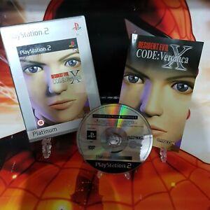 Resident-Evil-Code-Veronica-X-Platinum-Edition-Sony-Playstation-2-Free-UK-Post