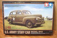 Tamiya U.s. Army Staff Car Model 1942 1/48 Scale Model Kit