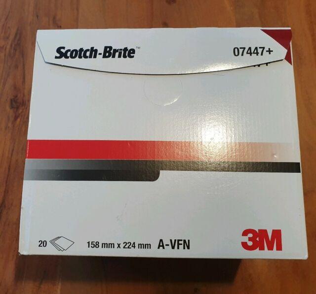 Packung mit 20 St-ck 3M Scotch-Brite Ultra Fine Hand Pads 7448