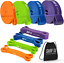 thumbnail 1 - Shapex Pull up Bands-Heavy Duty Set of Pull up Workout Bands, Perfect Resistance