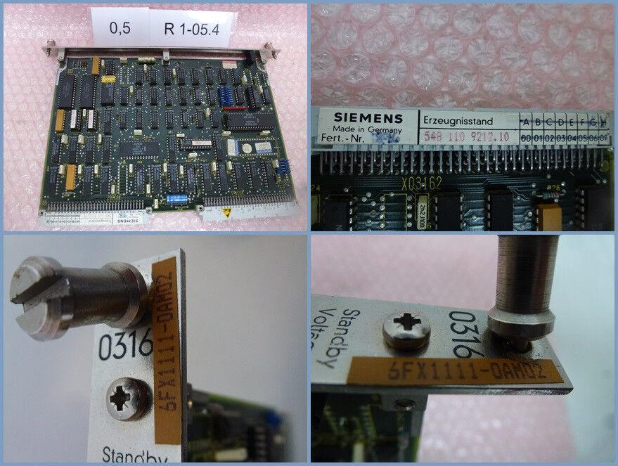 Siemens 6fx1 111