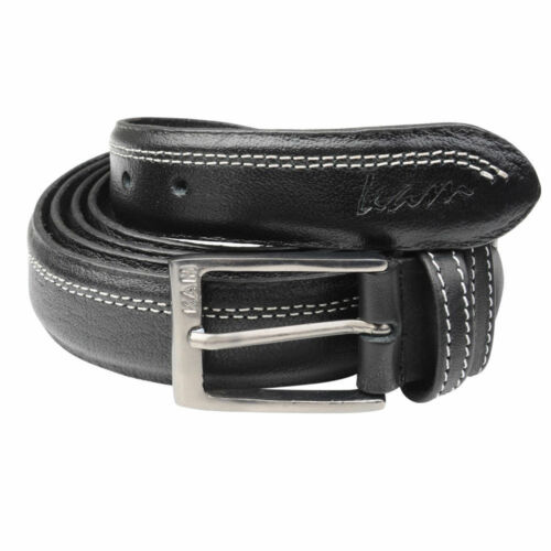 Mens Big Tall Plus Long Black Brown Trouser Leather Belt Belts Genuine Lather
