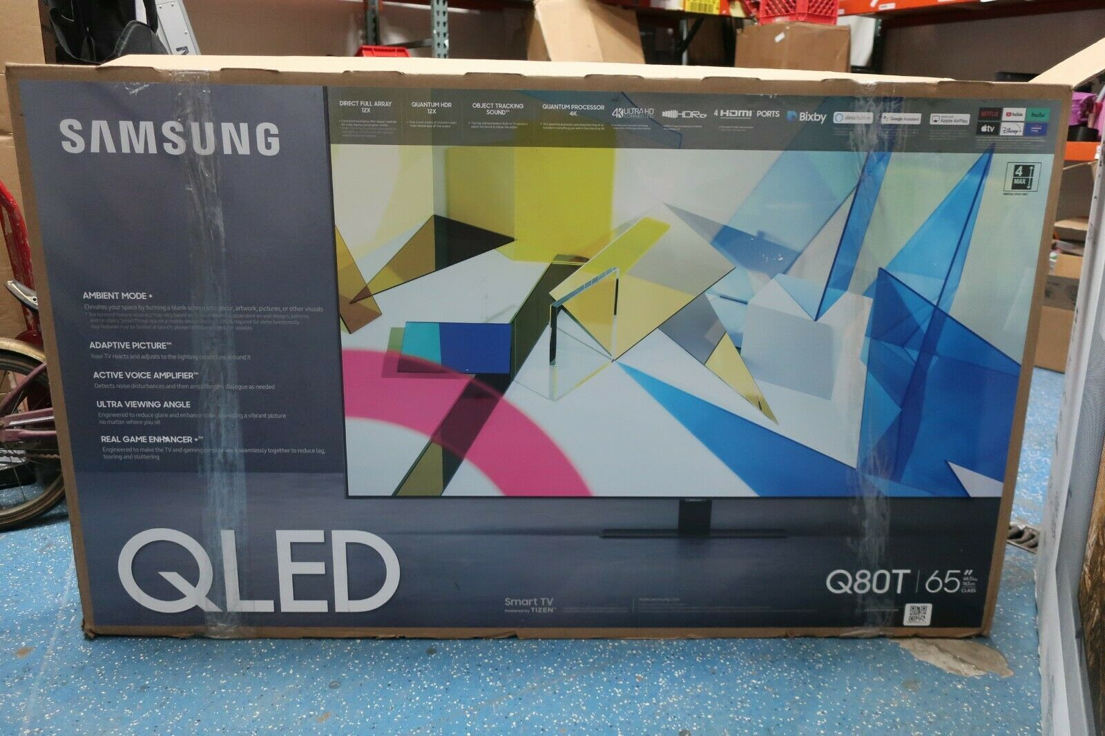 Samsung QN65Q80TAFXZA 65 Class Q80T QLED 4K UHD HDR Smart TV QN65Q80T -PICKUP**. Available Now for 999.99