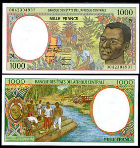 CENTRAL-AFRICAN-STATES-EQUATORIAL-GUINEA-1000-FRANCS-2000-UNC-P-502Ng