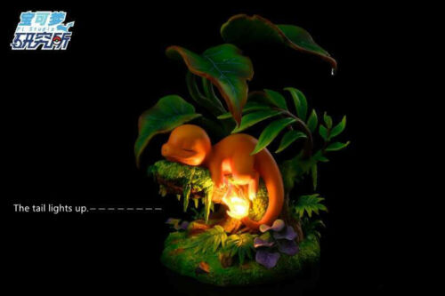 Research Studio Sleep Charmander Red Resin Scale Painted Figure GK Collection N