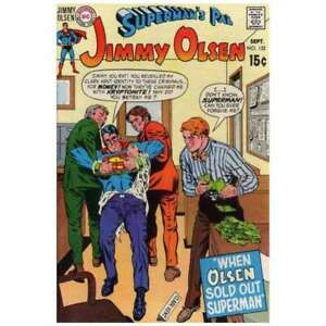 Superman-039-s-Pal-Jimmy-Olsen-1954-series-132-in-F-minus-cond-DC-comics-hi