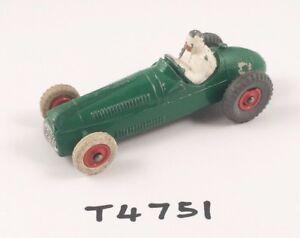 SUPERBE-DINKY-N-233-cooper-bristol-racing-car-diecast-vert-en-plastique-rouge-hub-1959