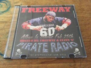 Details about RARE Cuzin E & FREEWAY Pirate Radio Street Bangers PROMO Hip  Hop Rap CD Gangsta