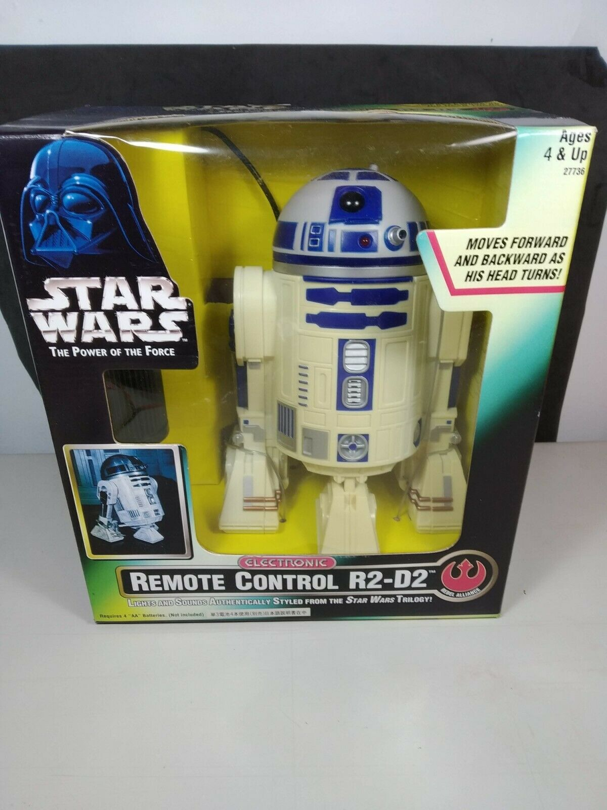 Hasbro Kenner estrella guerras energia Of The Force Potf Electronic Control Remoto R2d2