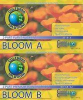 Cultured Solutions Bloom A & B - Base Nutrients Hydroponics Current Culture