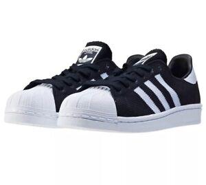 Details about adidas Originals Superstar Junior Boys Girls Trainers Black & White BB2965