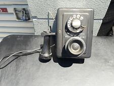 Vintage 1920s 1930s Western Electric Candle stick Rotary Telephone