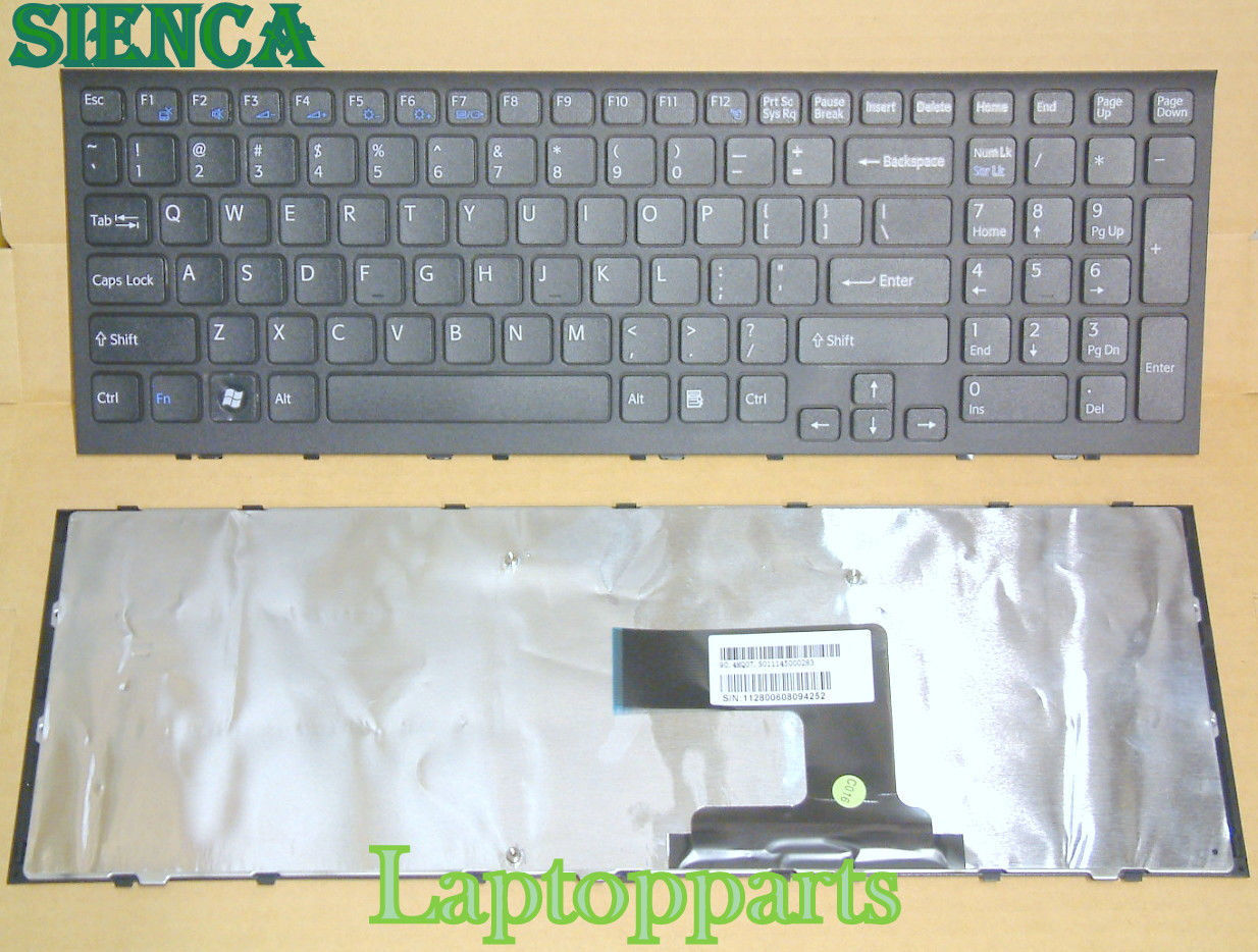 New US Keyboard For Sony VPC-EL VPCEL PCG-71C11L PCG-71C12L Laptop With Frame