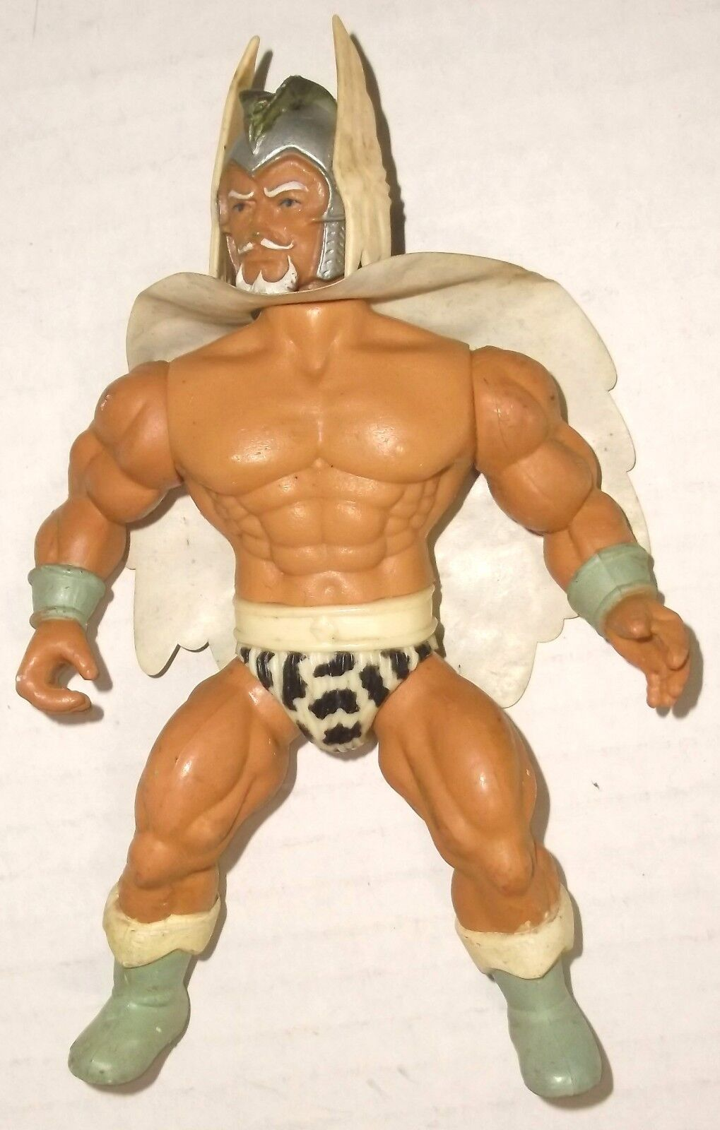 REMCO 1982 THE WARLORD figure EXC COND W CAPE Lost World VINTAGE ACTION FIGURE