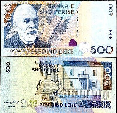 2015 P-New Unc Albania 500 Leke
