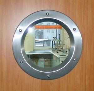 Hublot pour la porte 350 avec un verre transparent ebay - Porte a hublot ...