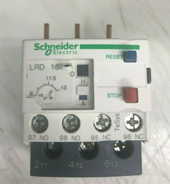 Schneider Thermal Overload Relay LRD16C LR-D16C 9-13A