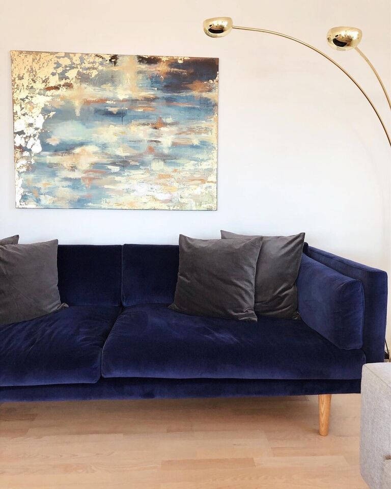 Sofa, velour, FormelA