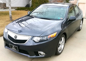 2012 Acura TSX premium package, Heated seats, 4 cylinder, auto,