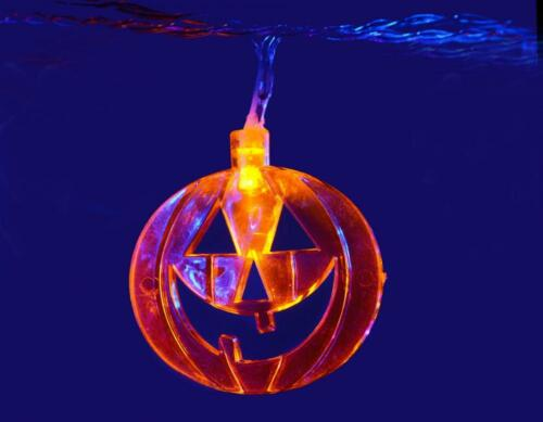 Qtx 155.521 halloween haute qualité pumpkins design batterie led string lights