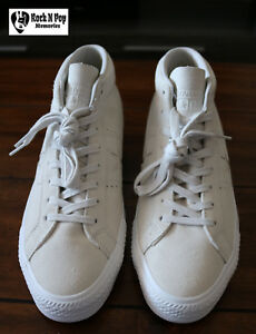 Converse Cons Men s One Star Pro Mid Skate Shoe Pale Putty Suede ... 6a438651a