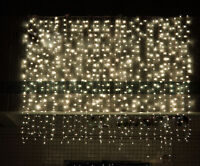 3M/6M LED Curtain Fairy String Lights Wedding Party Decor 300/600 Stage Lights