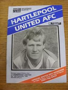 24-09-1988-Hartlepool-United-v-Cambridge-United-creased