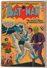 DC Comics BATMAN silver age #160 3.5  VG- 1964 ALIEN BOSS