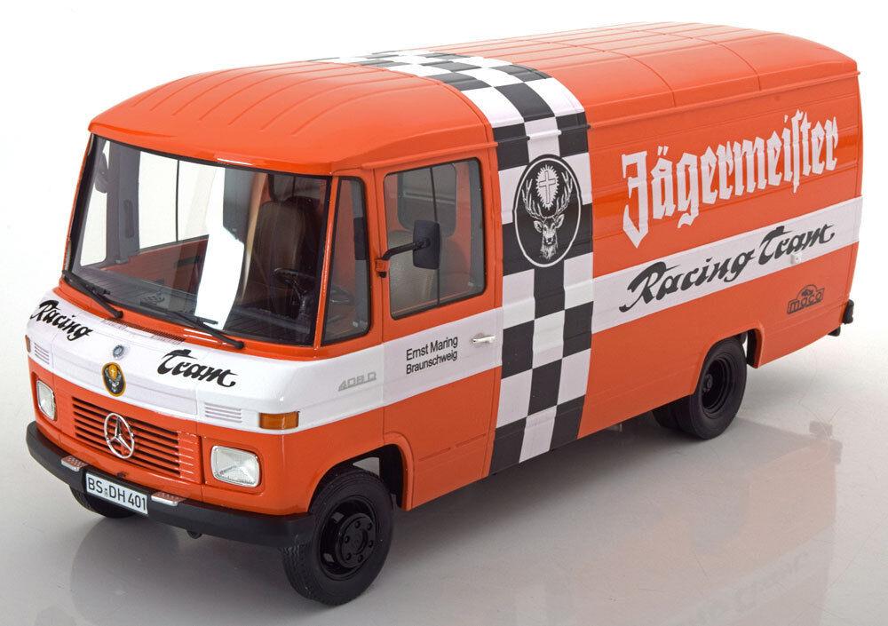 Premium Classixxs 1972 Mercedes Benz L 408 Jagermeister Racing Team 1/18 Scala