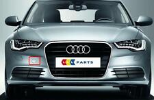AUDI A6 4G 10-14 NEW GENUINE FRONT BUMPER TOW HOOK COVER CAP 4G0807241