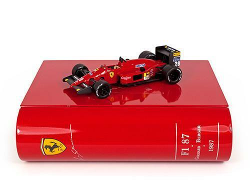 IXO La Storia 1 43 Ferrari F1 87 Berger Japanese GP 1987