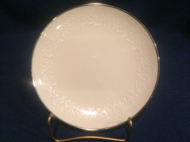 Vintage Noritake Ivory China Lorelei 6 1/4  Bread u0026 Butter Plate 7541 reduced & Noritake Lorelei Ivory Dinner Plates Vintage Fine China 7541 | eBay