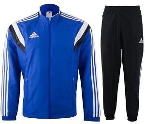 Détails sur Adidas homme condivo 14 officiel complet survêtement G80779 s, l, xl, xxl, 2XLT cobalt blu afficher le titre d'origine